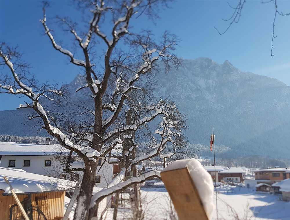 FERIENWOHNUNG WILDER KAISER Urlaub im Winter