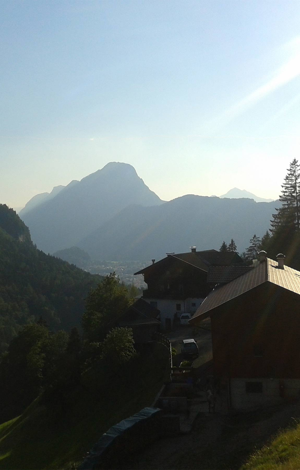 bergwanderführer tirol - wanderung im kaisergebirge